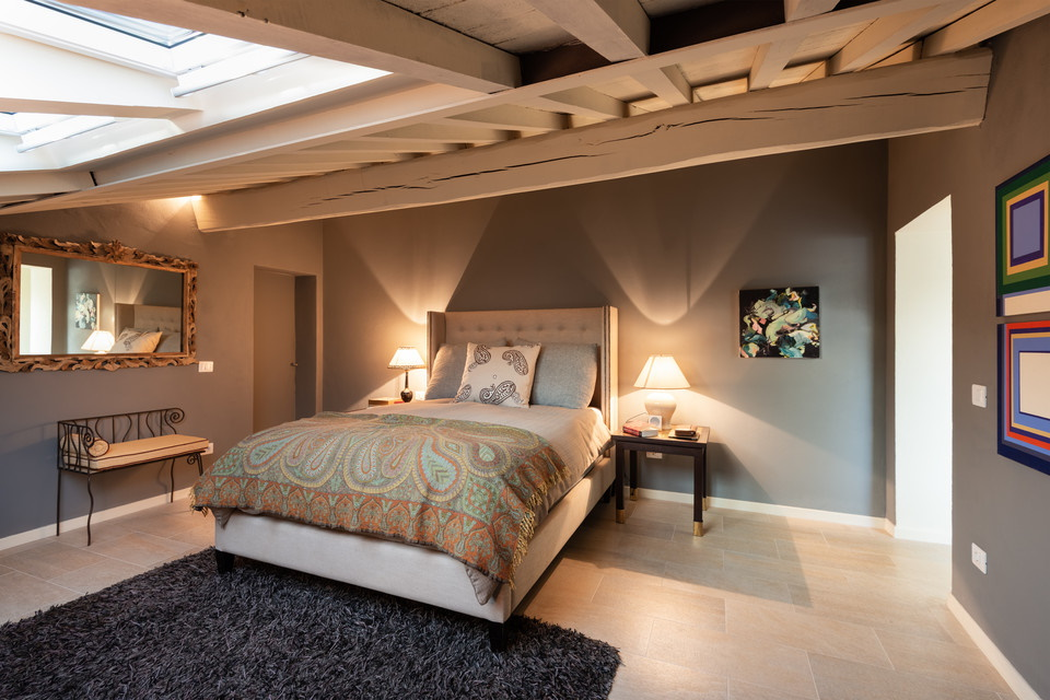 Master Bedroom - Penthouse on the Piazza
